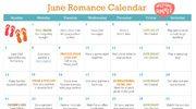 2015 june romance calendar