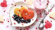 valentine breakfast in bed
