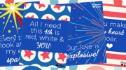 Printable Love Notes for 4th of July